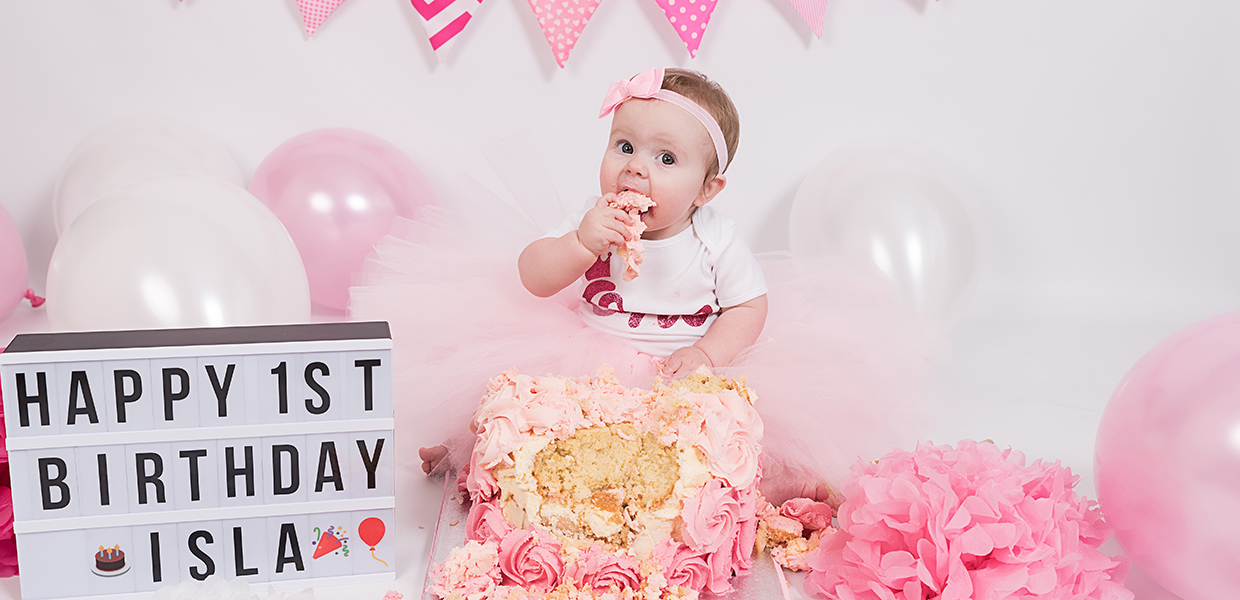Cake Smash Photo Shoot Crawley